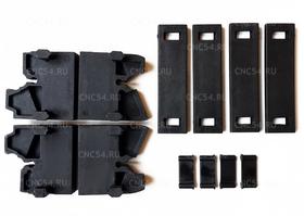 Комплект концевых элементов для бесшумного гибкого кабельного канала