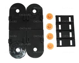 Комплект концевых элементов для открытого гибкого кабельного канала